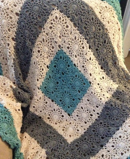 Country Lace Afghan - Free Pattern