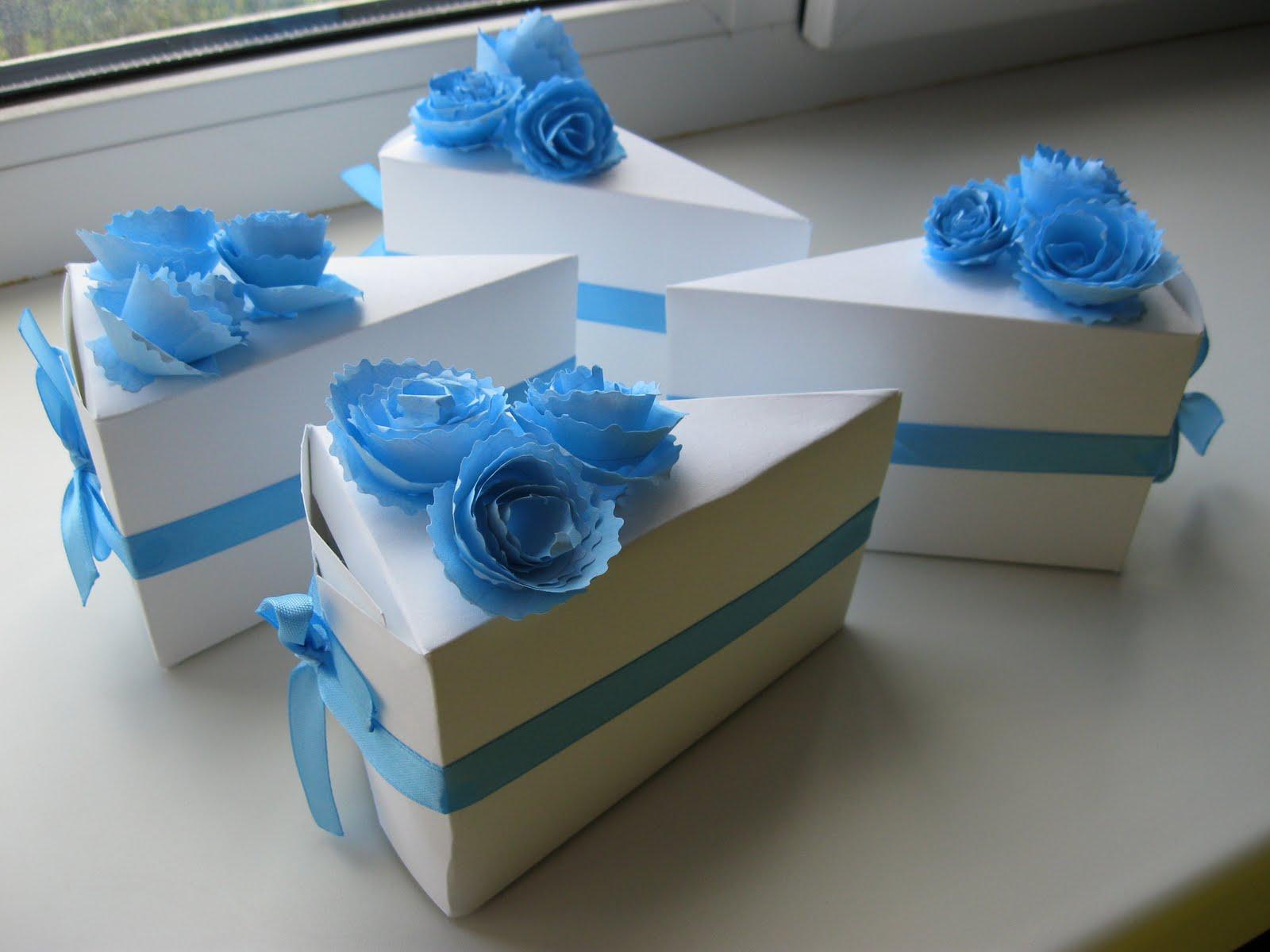 Упаковка для подарков торт 77