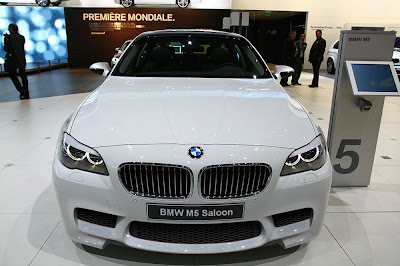BMW M5 f10 front 
