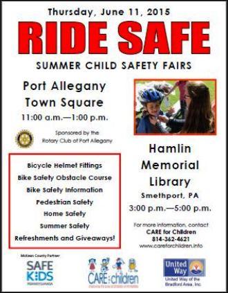 6-11 Ride Safe Hamlin Library