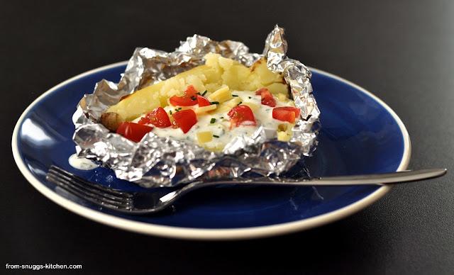 Ofen- oder Grillkartoffel