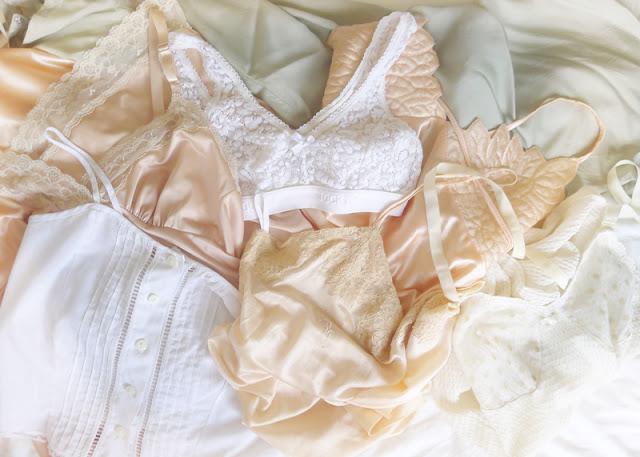 vintage lace undergarments