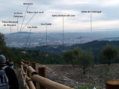 Seguint l'Anell Verd amb el Baix Llobregat als nostre peus