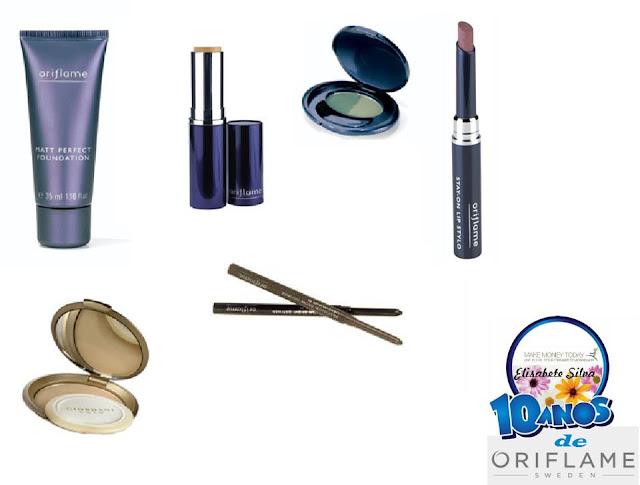 produtos oriflame maquilhagem