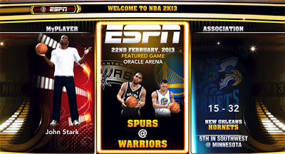 NBA 2K13 NBA on ESPN Presentation Mod