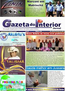 VEJA A EDIÇÃO Nº 50 DO JORNAL GAZETA DO INTERIOR