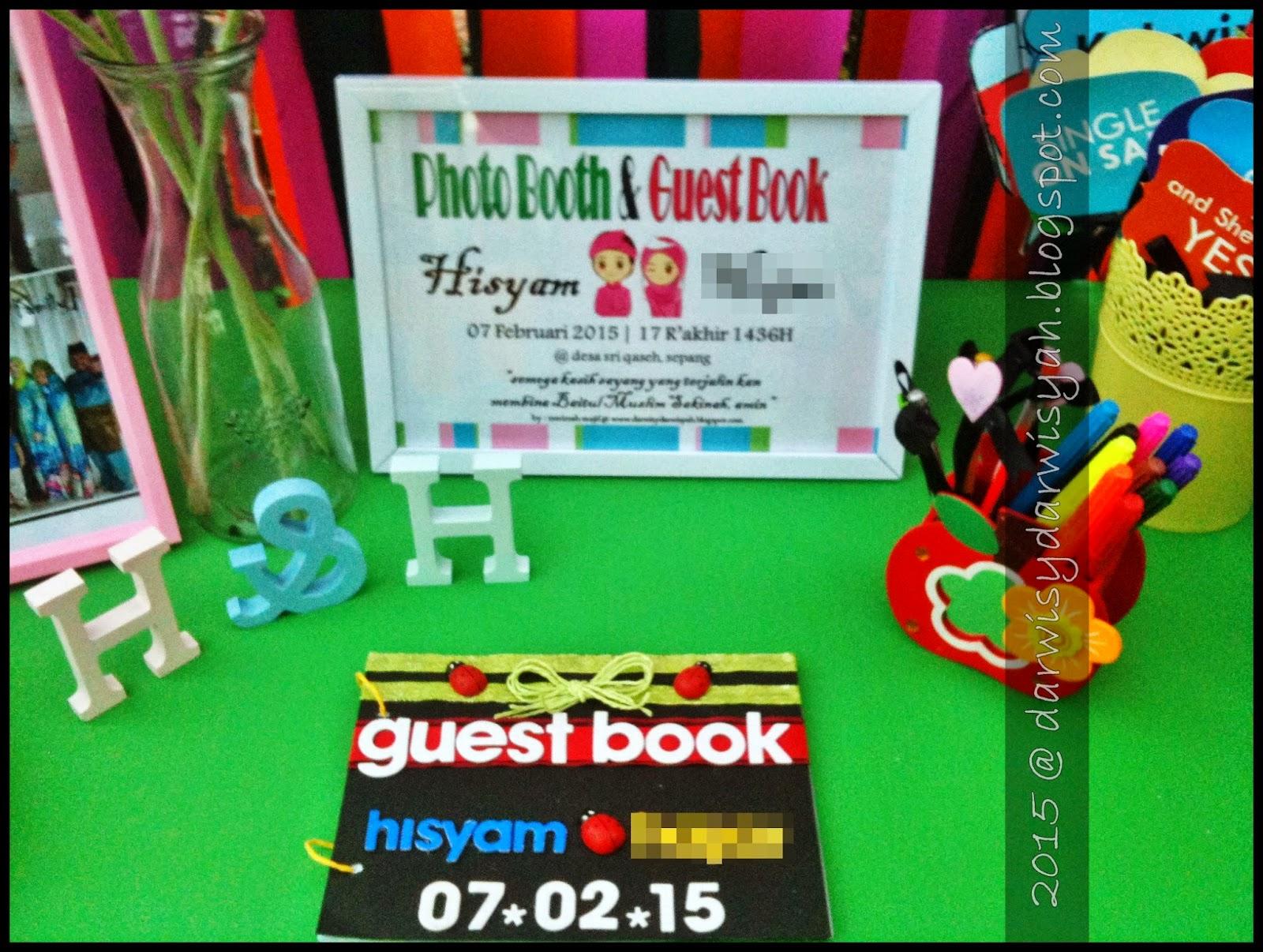 Custom Made Guest Book