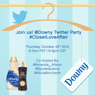 Join SpoiledLatina for the @Downy Twitter Party!!