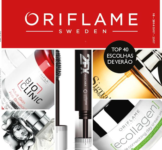 Catálogo 10 de 2014 da Oriflame