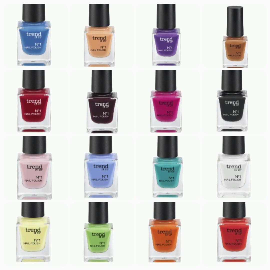 lari_loves_kosmetik: Die neue dm Marke trend IT UP - Nagel