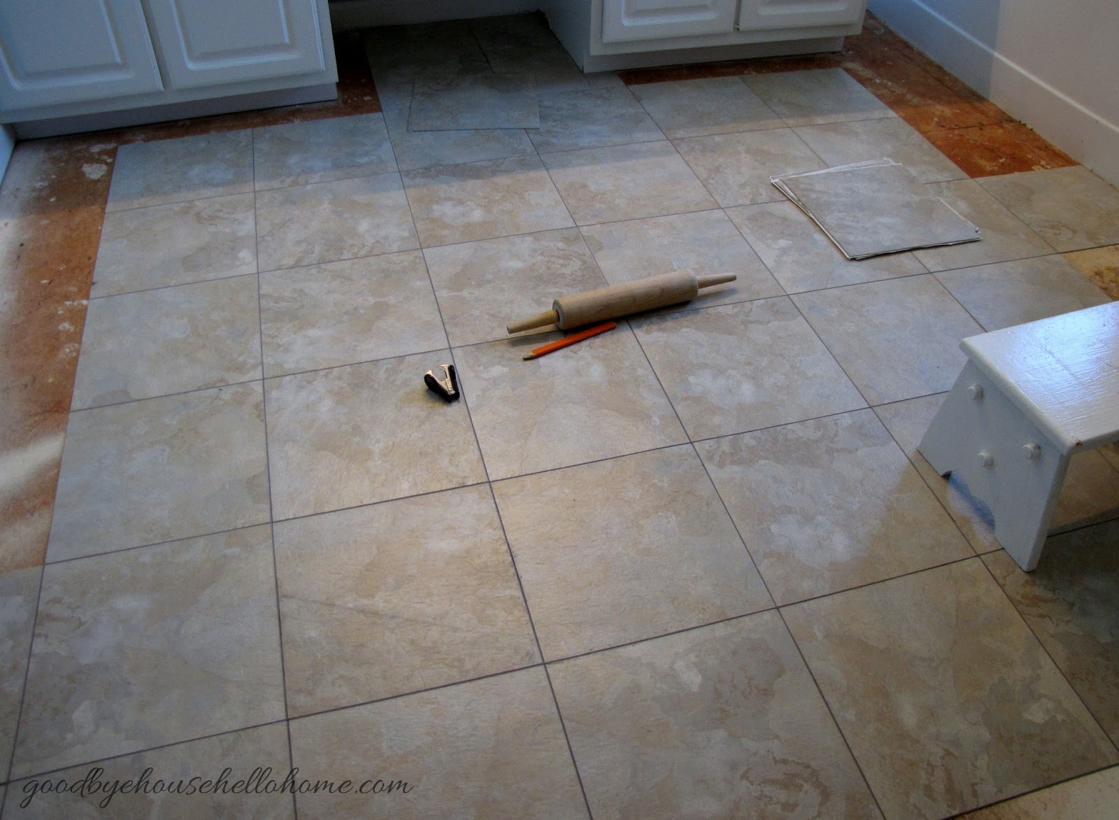 Goodbye house hello home blog how to install groutable vinyl tile blog how to install groutable vinyl tile dailygadgetfo Choice Image
