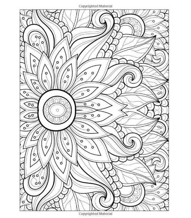 calming coloring pages for children - photo#31