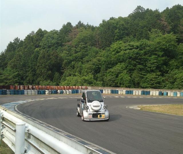 Daihatsu Midget II, dziwne samochody do wyścigów, JDM