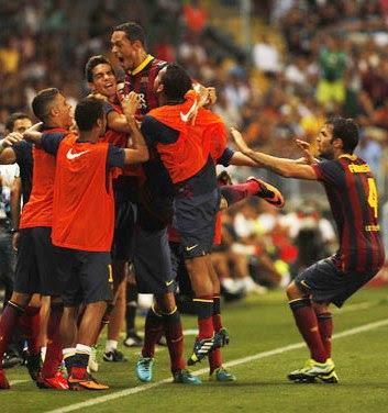 Barcelona vs Sevilla 3-2