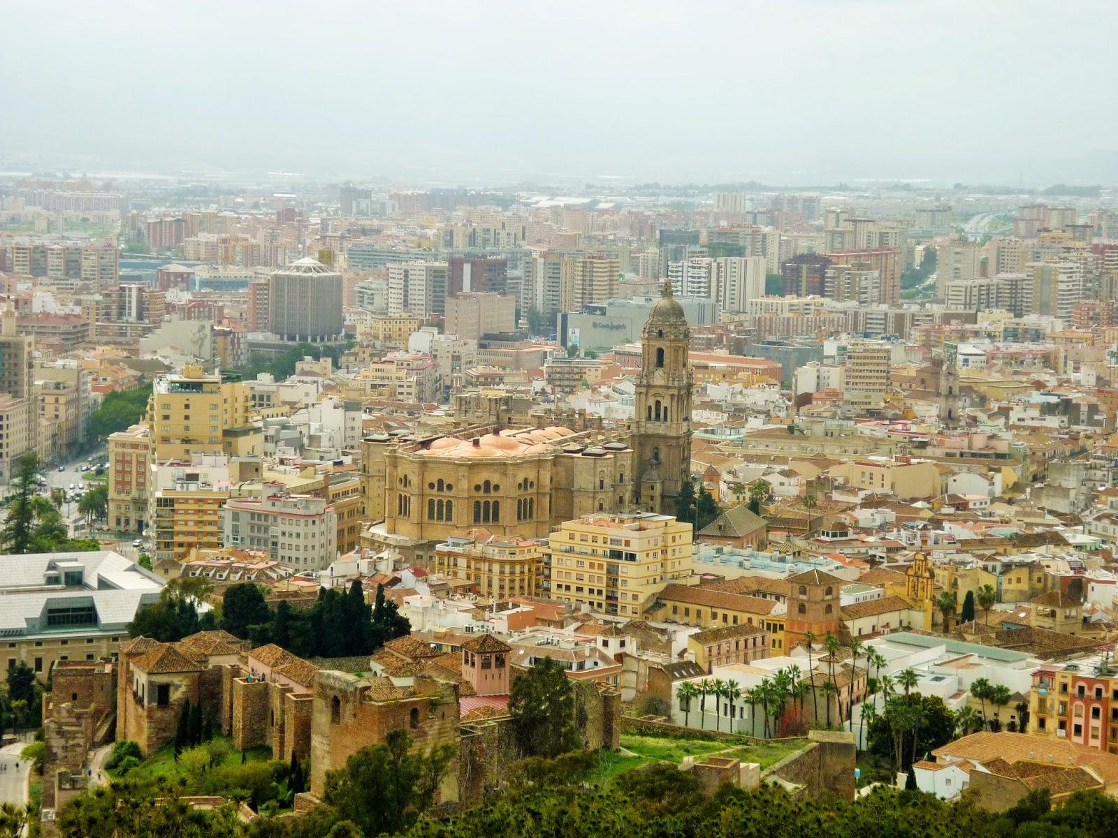 Malaga - Espagne - Castillo de Gibralfaro