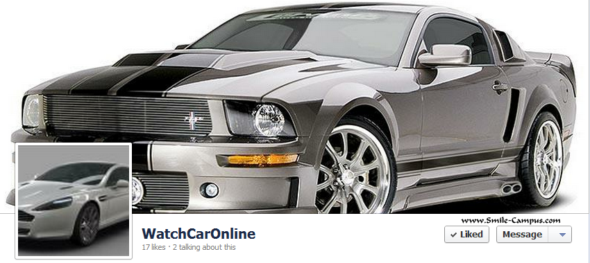 Facebook Fan Page of WatchCarOnline.blogspot.com