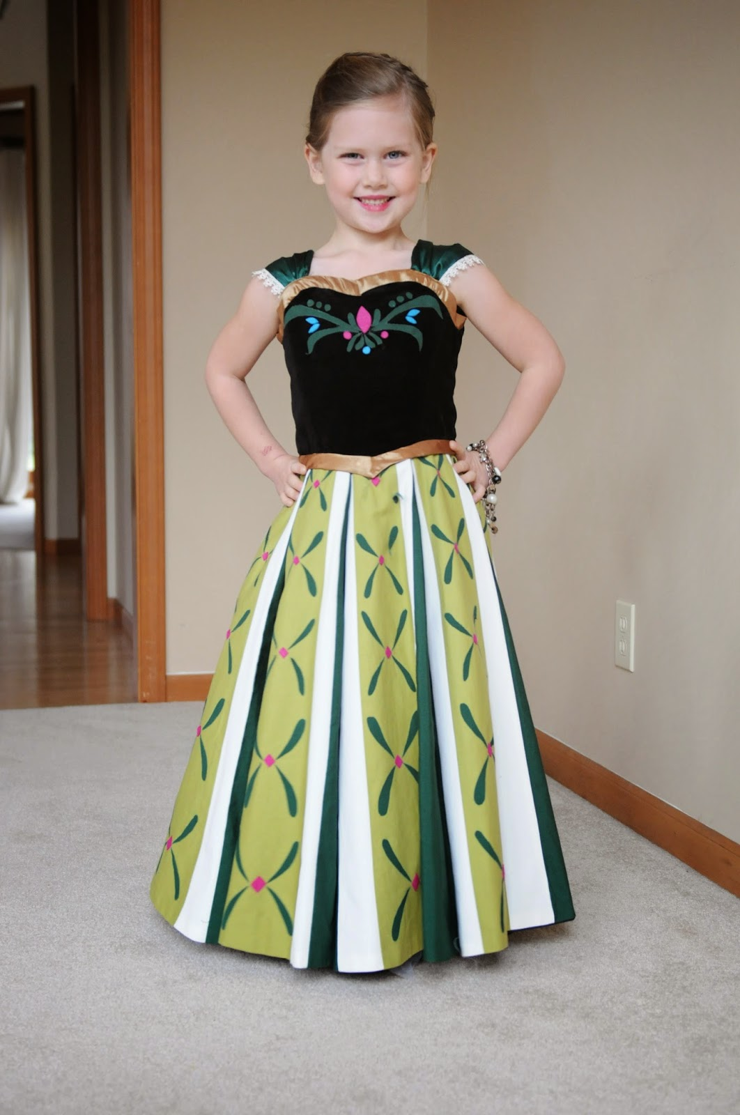 Very Homemade Annas Coronation Dress With How To - How to make designer dress at home