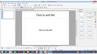 open office presentation