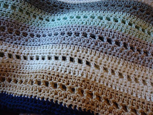 Crochet Adventures!: Crochet Pattern: Blocks & Stripes Afghan