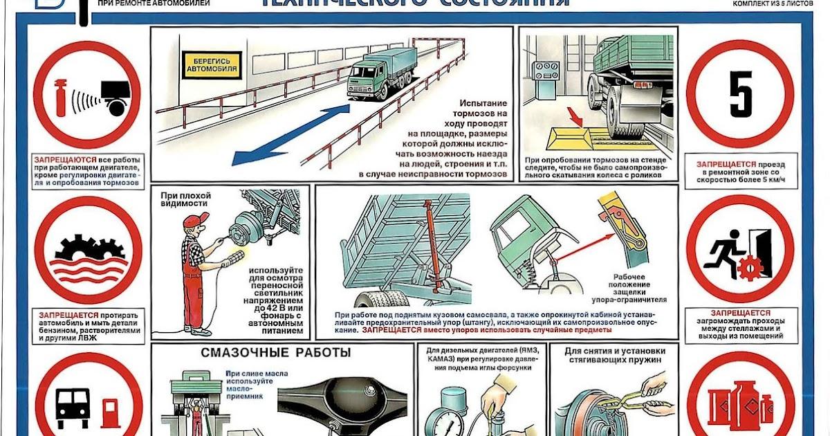Плакат по технике безопасности для школы