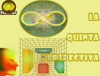 La Quinta perspectiva es simplemente el reconocimiento que Uds. están constreñidos por el espacio-tiempo.
