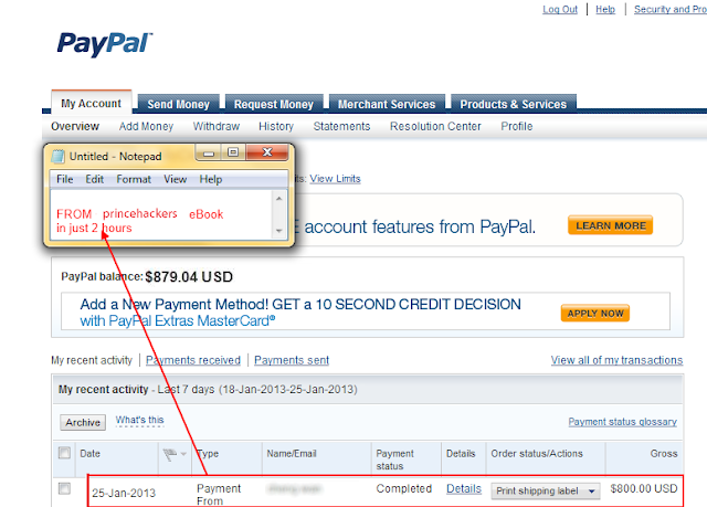 [MY OWN PRIVATE METHOD!] 500$+ Per Day Guarantee With PROOF!!! Ebay Secret Method