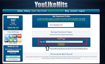 cara tambahkan FB likes,cara tambahkan Follower Twitter,Cara tambahkan websites hits,YouLikeHits,YouLikeHits Bots,Cara cepat tambahkan follower