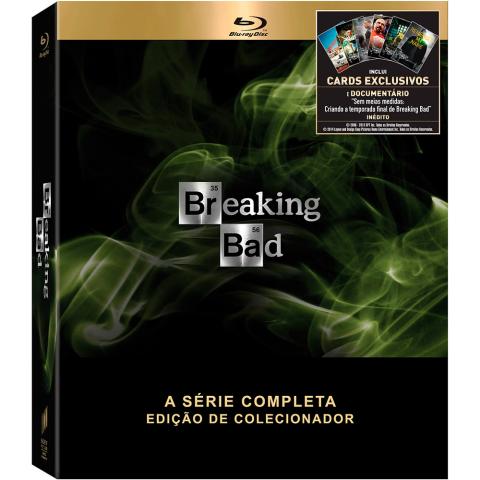 Promoção! Box Blu-Ray Breaking Bad R$ 199.90