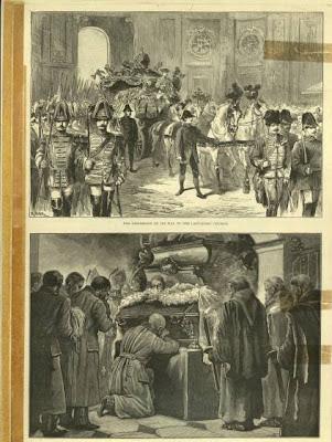 Funerales por el Príncipe Rudolf