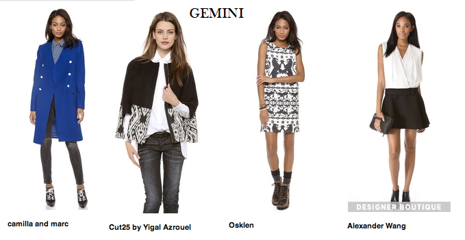 Gemini Fashion Astrological Counsel Amp Astro Type Style