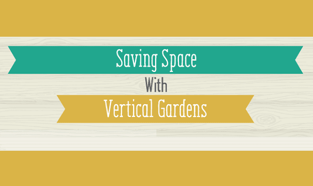 Saving Space With Vertical Gardens