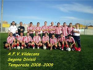 A.F.V.VILADECANS. 2008-09