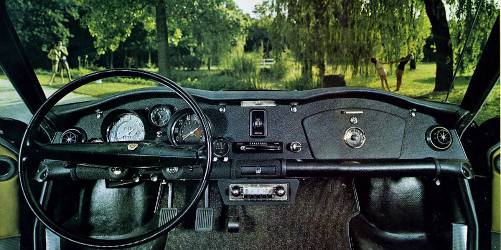 Cool Car Dashboards Panhard CT The Car Hobby - Cool car dashboards