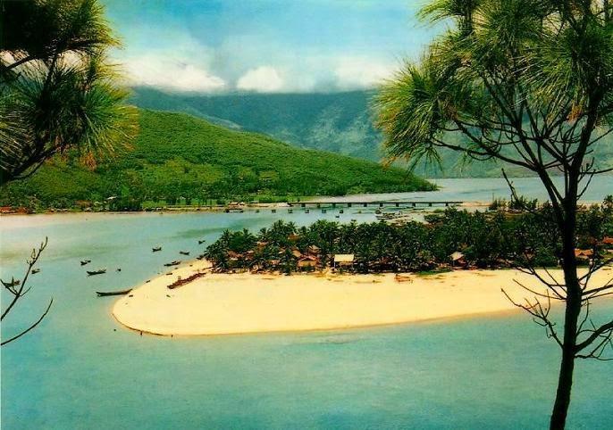 bãi biển lăng cô huế