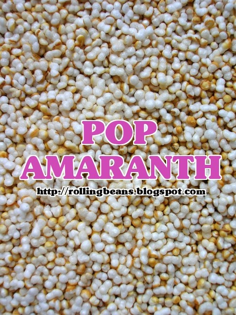 come fare il pop amaranth