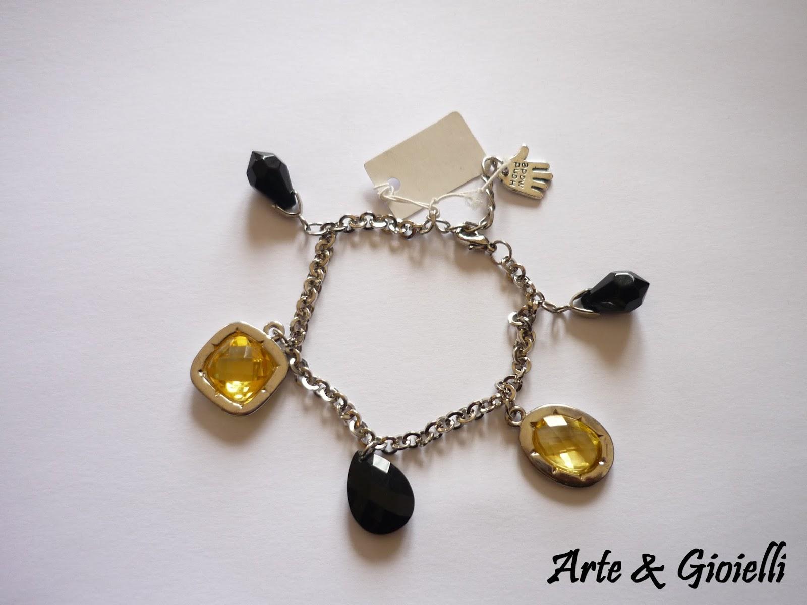 Arte gioielli bracciali con charms pendenti for Siti cinesi gioielli