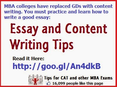 xat essay preparation