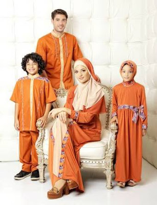 Model Busana Muslim Keluarga Desain Modern Saat Ini
