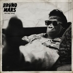 Bruno Mars The Lazy Song single cover