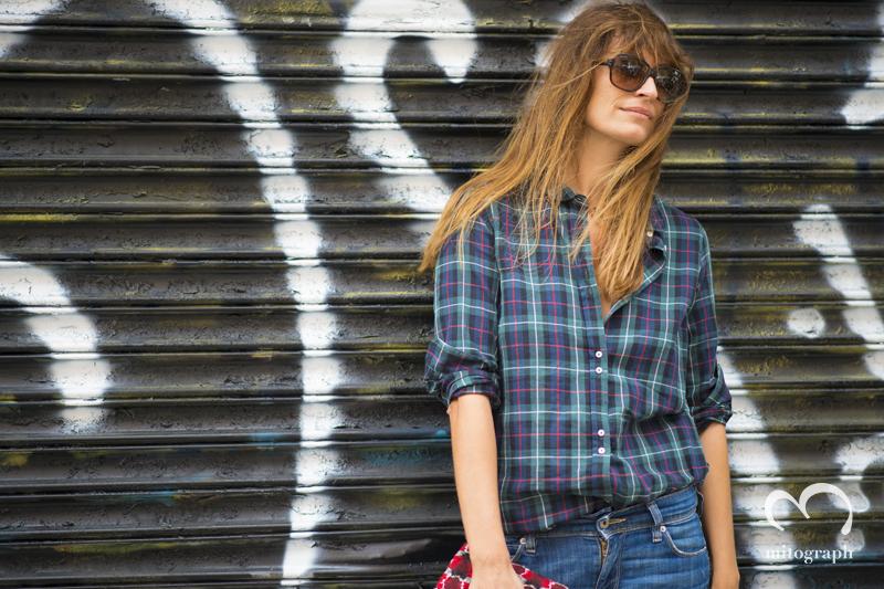 mitograph Caroline de Maigret Before Rodarte New York Fashion Week 2014 Spring Summer NYFW Street Style Shimpei Mito