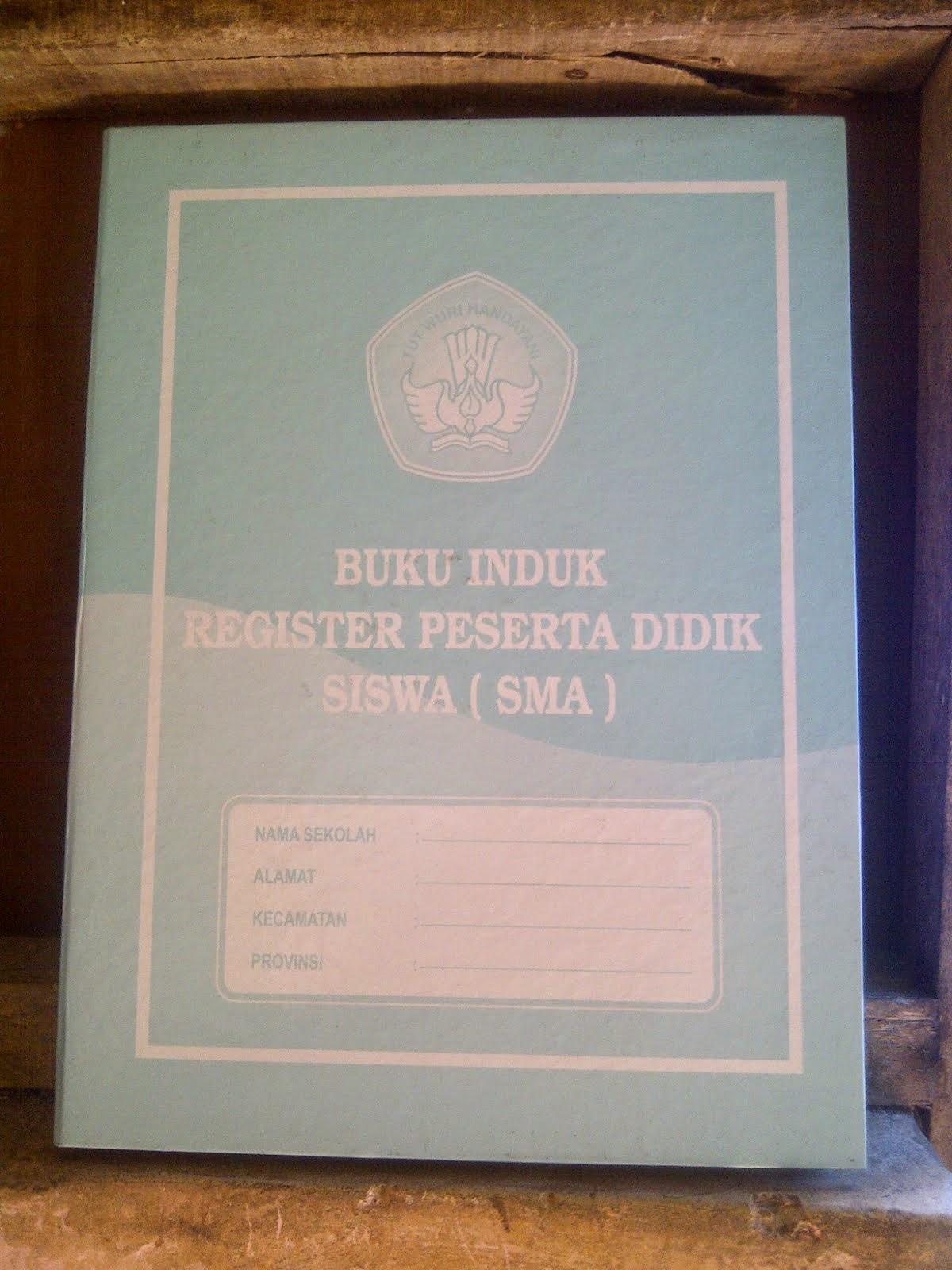 Buku Induk SMA KTSP 2006