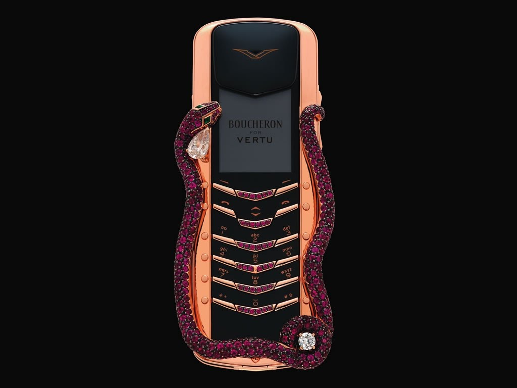 Vertu Signature Cobra- Most Expensive Cell Phones