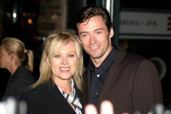 Hugh Jackman With Wife