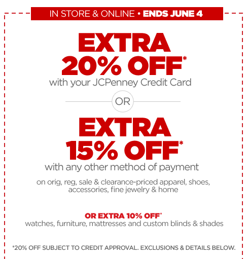 JC Penney Printable Coupon