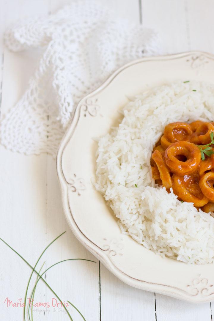 Calamares en salsa americana Cocinando espero