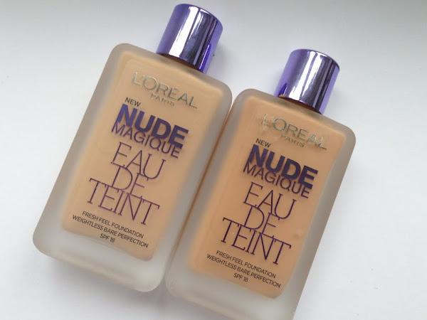 L'oreal Paris Nude Magique Eau De Teint.