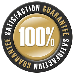 100% Satisfaction Guaranteed!