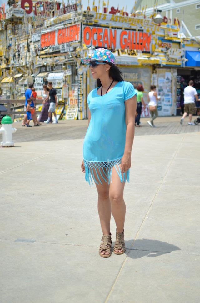 Blue Batwing, ocean city, mariestilo