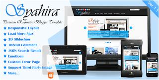 Syahira Responsive Blogger Template