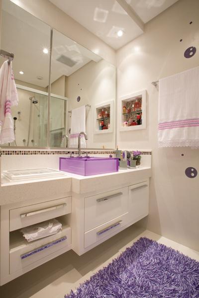 Amar, Casar e Decorar Banheiros!! -> Cuba Para Banheiro Roxa